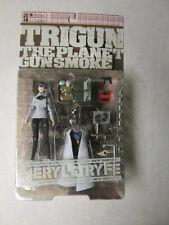 Trigun The Planet Gunsmoke Mery Stryfe With 20 Gun Ready Cloak MIP Anime