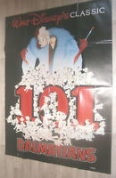 XXL Filmplakat -  101 DALMATIANS - WALT DISNEY- Zeichentrick