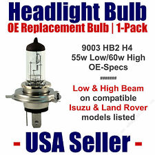 Headlight Bulb Low/High OE Replacement Fits Listed Isuzu/Land Rover Models 9003