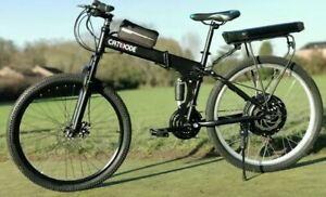 Electric Folding Ebike Full Suspension. 500W, 12.5Ah, 20mph! CATHODE Made In UK