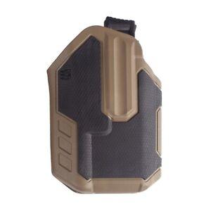 Blackhawk 419002BCR Black/Tan RH Omnivore Holster Multi-Fit Streamlight TLR-1/2