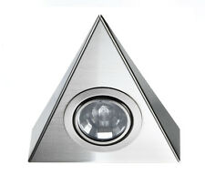 LED Dometic Triangular Spot light 12 Volt With Switch - CARAVAN CAMPER VAN BOAT