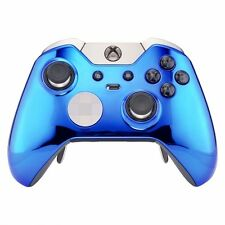 Chrome Blue Xbox One ELITE Rapid Fire Modded Controller 40 Mods for COD Destiny