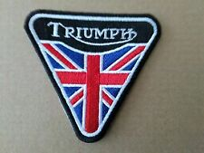 TRIUMPH SEW OR IRON ON  PATCH