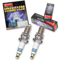 2 pc Denso Iridium Power Spark Plug for Suzuki VZ800 Marauder 1997-2004 Tune rl