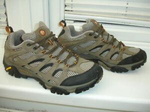 Merrell Walking Hiking Shoes Trainers Walnut Mens size UK8 / EU42 / US8.5