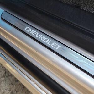 GM OEM Illuminated Front Door Step Sill Plates for Chevrolet 2021+ Trailblazer