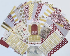 Teresa Collins (TINSEL & COMPANY ) Textured Paper & Embellishments  (B) Save 65%