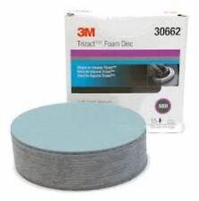 3M 30662 Trizact Hookit Foam Discs, 6 inch, 5000 grit,(3 Sheets) 3M-30662