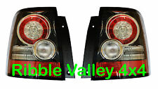 RANGE ROVER SPORT REAR LED TAIL LIGHTS GENUINE VALEO UPGRADE LAMPS BLACK INSERTS