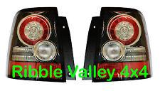 Range Rover Sport Trasero Led Luces Traseras Original actualización lámparas Negro Insertos