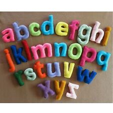 Alphabet Nursery Letters, Play Wall Letters, Fabric  Felt Letter, Name Banner