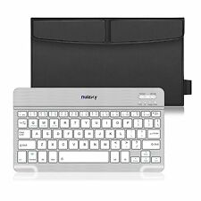 Ultra slim Wireless Bluetooth Leather Case Keyboard Stand for iPad Air / Air 2