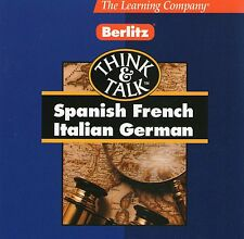 FRENCH | Think & Talk | Good condition | Windows 95 98 XP ( 7 8 10 see listing )