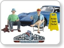 Motorhead 795 Car Show Figuren Set 1:24