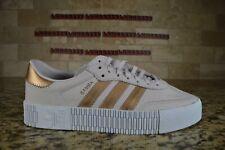 NEW Adidas Originals Sambarose W Pink Gold Women Lifestyle Casual Shoes EE6743