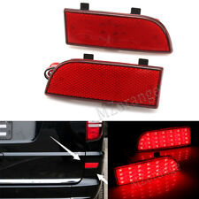 2x LED Rear Bumper reflector Brake Lights For Benz W906 sprinter Vito Viano W639