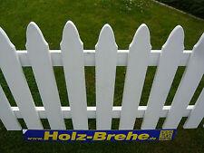 Osmo Zäune weiß Zaun Staketen Zaunlatten grundiert Fichte Silja Zaunbretter Holz