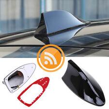 Black Car Auto Shark Fin Universal Roof Antenna Radio FM/AM Decorate Aerial