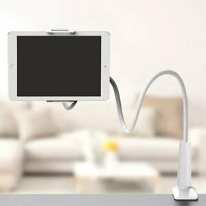 360° Bett Tisch Desktop Halter Halterung Ständer für iPad iphone Tablet Handy DE