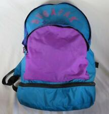 VTG Columbia Bugapak Backpack Teal Purple Colorblock Retro 90s Bugaboo Nylon