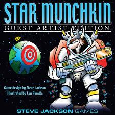 Star Munchkin Guest Artist Len Peralta Board Card Game Steve Jackson SJG 1518