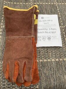 Liscombe Size 9 Brontoguard Welding Gloves