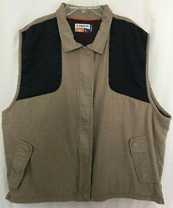 Magellan Outdoors Hunt Gear Sleeveless Zip Up Vest Size XL