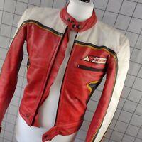 Dainese Retro Style Leather Motorcycle Jacket UK 40 / EUR 50 Men's Cafe Racer
