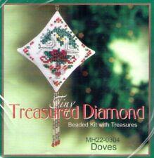Christmas Doves Mill Hill Treasure Diamond Kit
