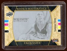 THADDEUS YOUNG EXQUISITE RC 1/1 MASTERPIECE  MINT   HOT  SIXERS STAR    RARE