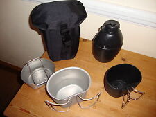 SAS BCB CRUSADER MUG/CUP + STOVE +BLACK WATER POUCH & BOTTLE SF SURVIVAL COOK