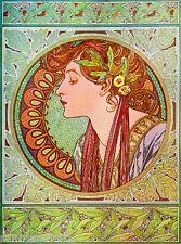 Beautiful Woman #3 Vintage French Nouveau France Poster Print Art Advertisement