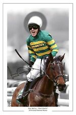 TONY MCCOY DONT PUSH IT GRAND NATIONAL SIGNED PHOTO