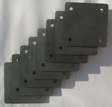 8 Roll Cage Footplates: Strengthening, Mounting, Fabrication (163x163x6)(3025-8)