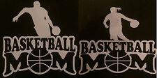 Basketball Mom Boy / Girl Car Window Vinyl Decal Sticker U Choose The Color 5x5