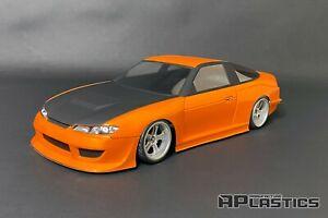 RC Body Car Drift Touring 1:10 Nissan Sileighty S15 180 SX style APlastics Shell