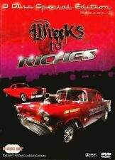 WRECKS TO RICHES - SEASON 2 special edition    -  DVD - REGION 4 - Sealed