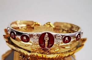 Bangle Bracelet I Ai Kai Silver Talisman Lucky Gamble Kuman Thong Wealth Amulet