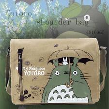 My Neighbor Totoro Shoulder Sling Bag School Messenger Satchel Student Backpack