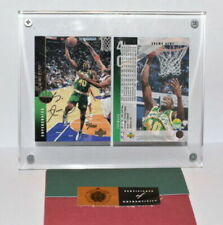 Shawn Kemp (Sonics) Upper Deck Signed Card Authenticated Auto HOF (41/1000)
