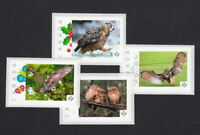 OWL SET of 4 Picture Postage Stamps MNH Canada 2015 [p15/7ow4]