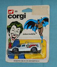 vintage Corgi The Joker JOKERMOBILE MOC diecast vehicle