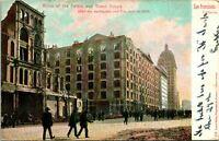 San Francisco CA Ruins of Palace and Grand Hotels Postcard Used (35040)