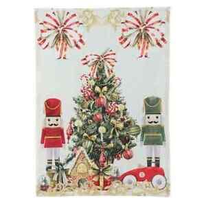 Geschirrtuch Nussknacker Weihnachten Nostalgie Landhaus, Blanc Mariclo Toskana
