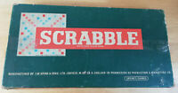 Vintage Classic Scrabble, Spears Games 1955, Boxed