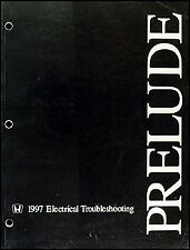 1997 Honda Prelude Electrical Troubleshooting Manual Wiring Diagram 97
