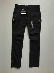 Craghoppers Kiwi Pro Act Trousers Men's Size UK 34 EU 44 Color Black Outdoor