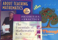 3 NEW BOOKS!  Teaching Mathematics, K-6: Effective Curriculum, Instruction