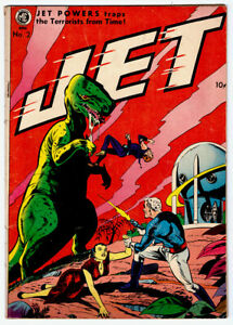 JET POWERS #2 in FN/VF- condition a 1951 ME Golden Age Sci-Fi Comic